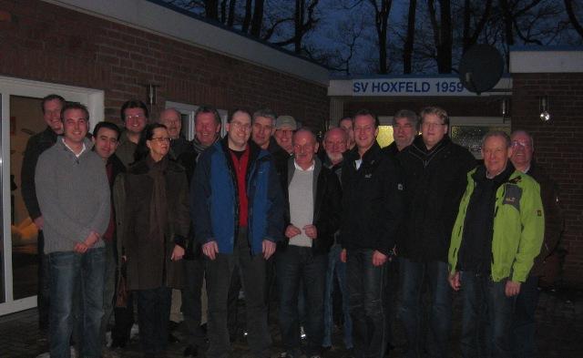Zu Gast beim RC Borken Hoxfeld: Die CDU-Fraktion